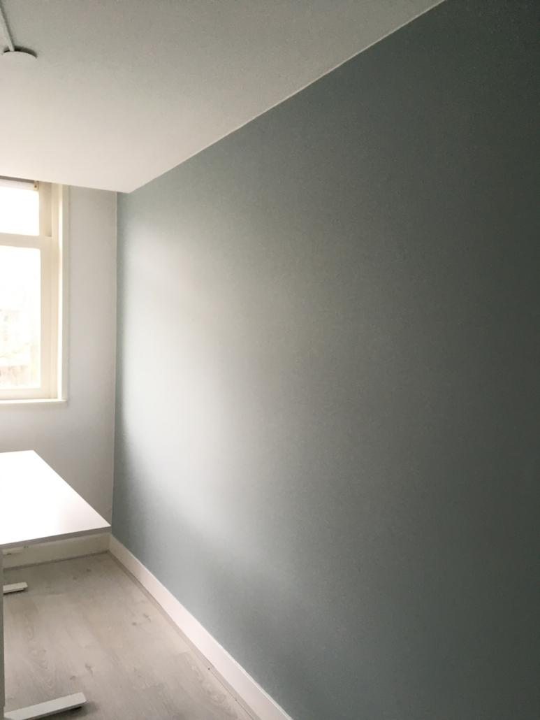 Schilderwerk appartement A'dam West